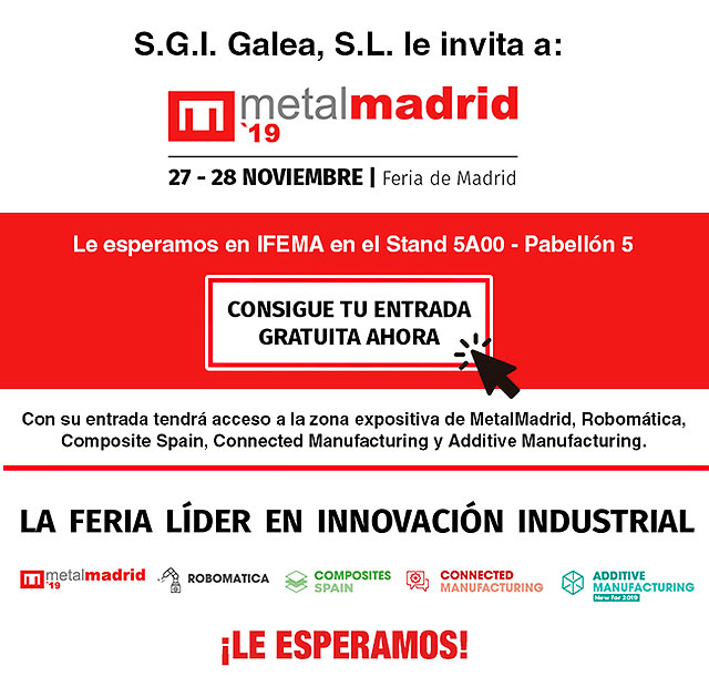 Galea le invita a MetalMadrid 2019