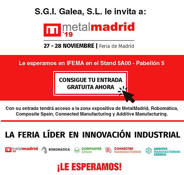 Galea le invita a MetalMadrid 2019